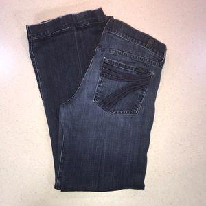 7 FAM dojo jeans.